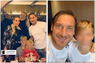 """Ilary Blasi e Francesco Totti fanno gli auguri al figlio Cristian: """"Con te sempre, ti amo"""""""