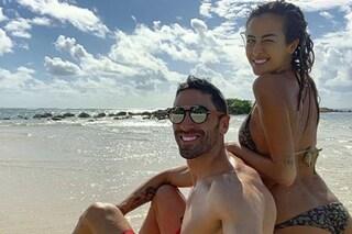 Giorgia Palmas e Filippo Magnini sempre più innamorati in vacanza ai Caraibi