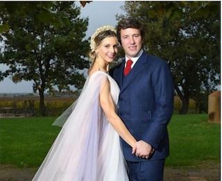 Nicoletta Romanoff e Federico Alverà si sono sposati