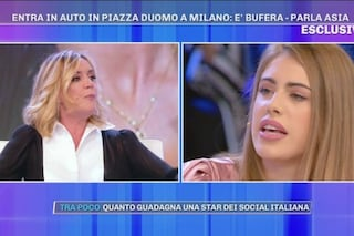 """""""La bravata al Duomo è la meno peggio, fa storie in auto a 180 all'ora"""": bufera su Asia Gianese"""