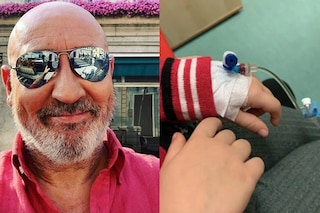 """La figlia di Maurizio Battista in ospedale: """"Anna è forte, starà bene"""""""