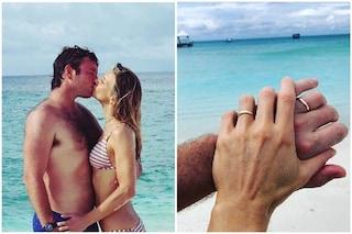 Nicoletta Romanoff e Federico Alverà: per i neo sposi viaggio di nozze alle Madive