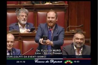 """Deputato leghista Di Muro fa proposta di matrimonio in parlamento, Fico lo gela: """"Non era il caso"""""""