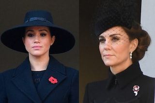 Kate Middleton e Meghan Markle in balconi separati al Remembrance Day 2019