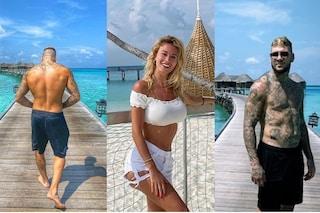 Diletta Leotta e Daniele Scardina nel resort alle Maldive da almeno 900 dollari a notte