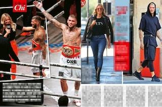 Diletta Leotta con Daniele Scardina: lei lo raggiunge sul ring, poi trascorrono la notte insieme