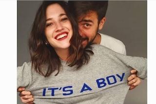 """Lodovica Comello incinta, l'annuncio su Instagram: """"È un maschio"""""""