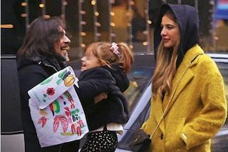 Francesco Sarcina e Clizia Incorvaia di nuovo insieme, sorrisi tra gli ex per la figlia Nina