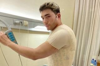 """Giacomo Urtis ricoverato in ospedale: """"Per Natale mi sono regalato una schiena nuova"""""""