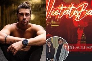 Andrea Damante con la nuova fiamma, il bacio passionale con la modella Claudia Coppola