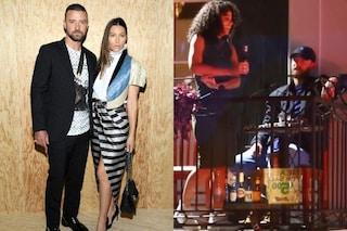 """""""Ero ubriaco, mi pento"""", Justin Timberlake si scusa con Jessica Biel per il video del presunto flirt"""