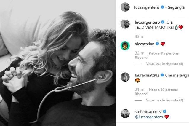 Luca Argentero diventa papà, la fidanzata Cristina è incinta