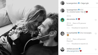 """Luca Argentero e Cristina Marino presto genitori: """"Io e te diventiamo tre"""""""