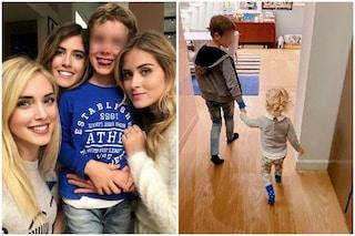 Chiara Ferragni pubblica per la prima volta su Instagram una foto con suo fratello Marco