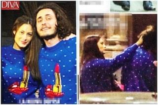 Marica Pellegrinelli e Charley Vezza nelle foto insieme per il primo Natale da coppia