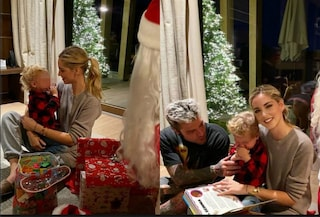 Natale traumatico per il figlio di Chiara Ferragni e Fedez, Leone terrorizzato da Babbo Natale