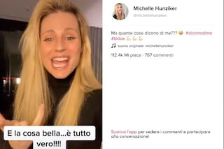 """Michelle Hunziker su TikTok #diconodime: """"Rido troppo e sono sempre incinta"""""""