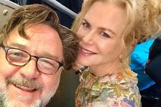 Nicole Kidman torna a casa per Natale, si ritrova Russell Crowe come vicino di posto in aereo