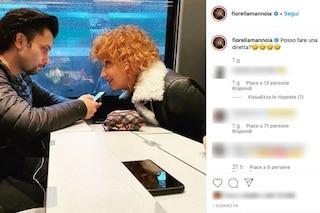 Fiorella Mannoia e il fidanzato Carlo Di Francesco di nuovo insieme su Instagram