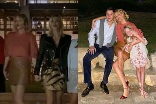 Alessia Marcuzzi a Dubai con l'ex marito Simone Inzaghi, hanno festeggiato il Natale 2019 insieme