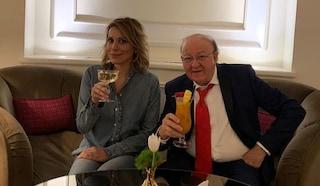 """Massimo Boldi presenta la fidanzata Irene Fornaciari in tv: """"Con lei sono rinato"""""""