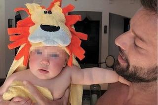 """Ricky Martin mostra la figlia Lucia su Instagram: """"La padrona dei miei sogni"""""""