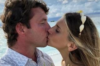 Nicoletta Romanoff si sposa di nuovo alle Maldive, è il secondo matrimonio in una settimana