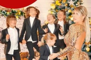 """Wanda Nara: """"Non so cosa sia una tata. Cresco i miei 5 figli da sola, sennò perché farli?"""""""