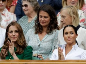 Kate Mddleton e Meghan Markle (ph. BEN CURTIS/AFP via Getty Images