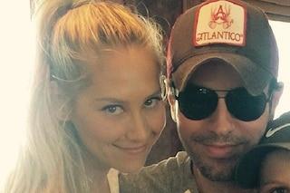 Enrique Iglesiasancora papà,Anna Kournikova è incinta