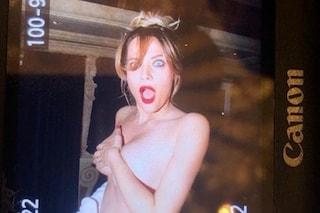 """Laura Chiatti, foto in topless per festeggiare il milione su Instagram: """"Obiettivo Belen lontano"""""""