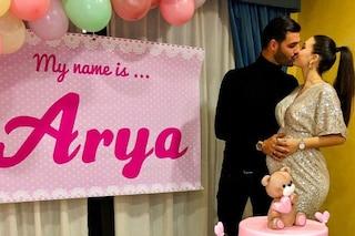 """Clarissa Marchese e Federico Gregucci svelano il nome della figlia: """"Si chiamerà Arya"""""""