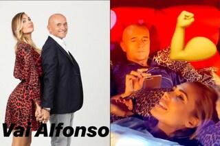 Ilary Blasi fa il tifo per Alfonso Signorini al GF Vip ma il conduttore dimentica di salutarla