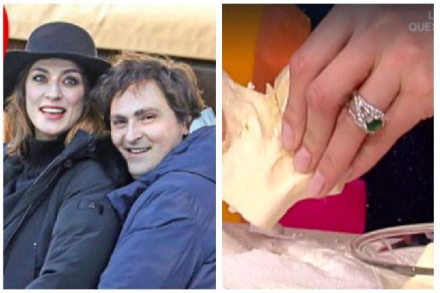 Elisa Isoardi e Alessandro Di Paolo vicini alle nozze? Spunta l'anello di smeraldo al dito