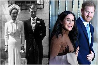 Meghan Markle come Wallis Simpson: le 'scandalose' americane divorziate in rotta con la Corona