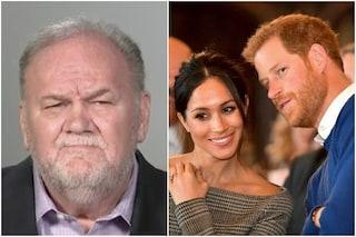 """Harry e Meghan Markle lasciano la Famiglia Reale, il padre di lei: """"Sono deluso"""""""