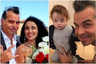 Piero Pelù e la moglie Gianna Fratta, ha tre figlie e al nipote ha dedicato la canzone Gigante