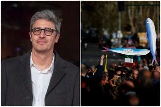 """Pif scende in piazza con le sardine a Bologna: """"Come loro non mi riconosco in una certa politica"""""""