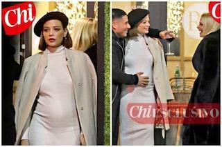 Le prime foto di Silvia Provvedi incinta con il fidanzato Giorgio De Stefano