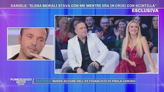 Lite in strada tra Elena Morali, Daniele Di Lorenzo e Scintilla