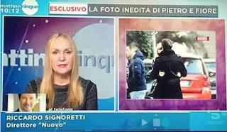 """Spunta la foto del presunto bacio tra Fiore Argento e Pietro Delle Piane, lei: """"Non voglio più vederlo"""""""