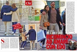 """Diana Del Bufalo, le prime foto con il nuovo fidanzato Edoardo Tavassi: """"Sono pazza d'amore"""""""