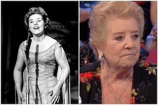 """Wilma De Angelis la """"Patatina"""" della canzone italiana, fu amante di un musicista di Little Tony"""