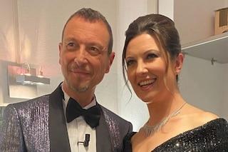 """Giovanna Civitillo e la romantica dedica ad Amadeus: """"Sei stato bravissimo amore mio"""""""