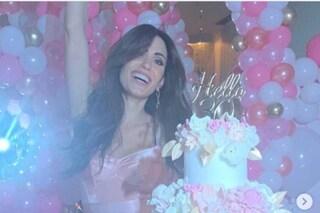 Federica Nargi festeggia in grande i suoi 30 anni, al party Costanza Caracciolo col pancione