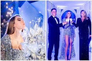 """La figlia di Fabio Cannavaro è Martina, la festa stile """"party sul ghiaccio"""" per i suoi 18 anni"""