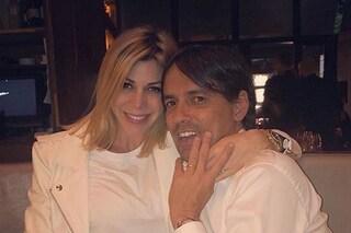 Simone Inzaghi papà per la terza volta: la moglie Gaia Lucariello è incinta
