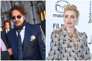 """Johnny Deep e le frasi choc sull'ex moglie Amber Heard: """"Sco***ò il suo cadavere carbonizzato"""""""