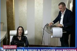 Nina Moric ordina indagini su Favoloso e assume Ezio Denti, criminologo della macchina della verità
