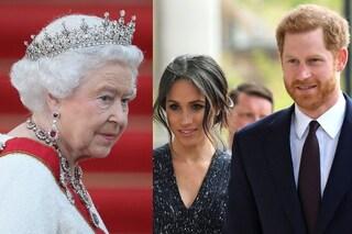 """""""La Regina Elisabetta II ha vietato a Harry e Meghan di usare il brand Sussex Royal"""""""